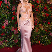 Rita Ora attends Evening Standard Theatre Awards at Theatre Royal, on 18 November 2018, London, UK.