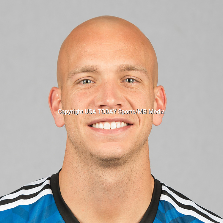 Feb 25, 2016; USA; San Jose Earthquakes player Mark Sherrod poses for a photo. Mandatory Credit: USA TODAY Sports
