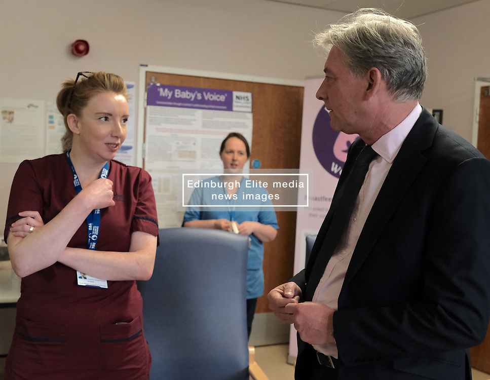 "Scottish Labour leader Richard Leonard and Health spokesperson Monica Lennon met with midwives in NHS Lanarkshire, ahead of a Scottish Labour debate which calls on the SNP Government to invest an additional £10 million for the implementation of Best Start and to investigate claims that midwives are not being given sufficient resources to do their jobs.<br /> <br /> Scottish Labour will use parliamentary time this week to call on the SNP Government to investigate reports that midwives do not have enough resources to do their jobs safely.<br /> <br /> Concerns have been raised in an open letter by midwives in NHS Lothian, which claim they do not have enough computers, equipment and pool cars.<br /> <br /> Scottish Labour have also called for an additional £10 million to be allocated towards the implementation of the Best Start recommendations, to ensure that midwives are given adequate time, training and resources.<br /> <br /> Scottish Labour Health Spokesperson Monica Lennon said:<br /> <br /> ""Midwives play a crucial role in caring for women and babies. The best way of recognising their contribution to our NHS is by making sure they have enough resources to do their jobs safely.<br /> <br /> ""That's why Scottish Labour is calling on the SNP Government to investigate reports about a lack of equipment and resources, and to provide an additional £10 million towards the implementation of the Best Start recommendations.<br /> <br /> ""The Health Secretary must listen to the concerns of midwives and take urgent action to address the workforce crisis.""<br /> <br /> Pictured: Richard Leonard chats to midwives<br /> <br /> Alex Todd 