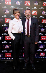 Presenters Mel Giedroyc and Graham Norton attend the launch of the new BBC One Saturday night entertainment show, Let it Shine, at the Ham Yard Hotel, London.