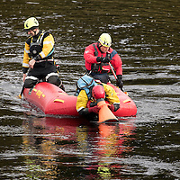 Search for 15 year old Kathleen Harkin…..10.10.16<br />Police Scotland, Scottish Fire and Rescue and Tayside Mountain Rescue Team searching the River Tay in Perth for missing Murthly teenager Kathleen Harkin<br />Picture by Graeme Hart.<br />Copyright Perthshire Picture Agency<br />Tel: 01738 623350  Mobile: 07990 594431
