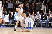 DESCRIZIONE : Eurocup 2014/15 Last32 Dinamo Banco di Sardegna Sassari -  Banvit Bandirma<br /> GIOCATORE : Massimo Chessa Brian Sacchetti<br /> CATEGORIA : Fair Play Controcampo<br /> SQUADRA : Dinamo Banco di Sardegna Sassari<br /> EVENTO : Eurocup 2014/2015<br /> GARA : Dinamo Banco di Sardegna Sassari - Banvit Bandirma<br /> DATA : 11/02/2015<br /> SPORT : Pallacanestro <br /> AUTORE : Agenzia Ciamillo-Castoria / Claudio Atzori<br /> Galleria : Eurocup 2014/2015<br /> Fotonotizia : Eurocup 2014/15 Last32 Dinamo Banco di Sardegna Sassari -  Banvit Bandirma<br /> Predefinita :