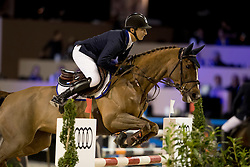 Hendrix Timothy, (NED), Janou<br /> Jumping Indoor Maastricht 2016<br /> © Hippo Foto - Dirk Caremans<br /> 12/11/2016