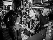 Mara Blom Schantz at Nellie's Sports Bar in Washington, DC