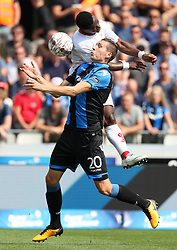 August 27, 2017 - Brugge, BELGIUM - Club's Hans Vanaken and Standard's Fai Collins fight for the ball during the Jupiler Pro League match between Club Brugge and Standard de Liege, in Brugge, Sunday 27 August 2017, on the fifth day of the Jupiler Pro League, the Belgian soccer championship season 2017-2018. BELGA PHOTO VIRGINIE LEFOUR (Credit Image: © Virginie Lefour/Belga via ZUMA Press)