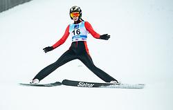 Daniela Haralambie of Romania during 2nd Round at Day 1 of World Cup Ski Jumping Ladies Ljubno 2019, on February 8, 2019 in Ljubno ob Savinji, Slovenia. Photo by Matic Ritonja / Sportida