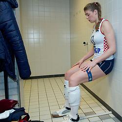 09–01-2020 NED: Olympic qualification tournament women, Apeldoorn<br /> Croatia - Belgium / Samanta Fabris #13 of Croatia