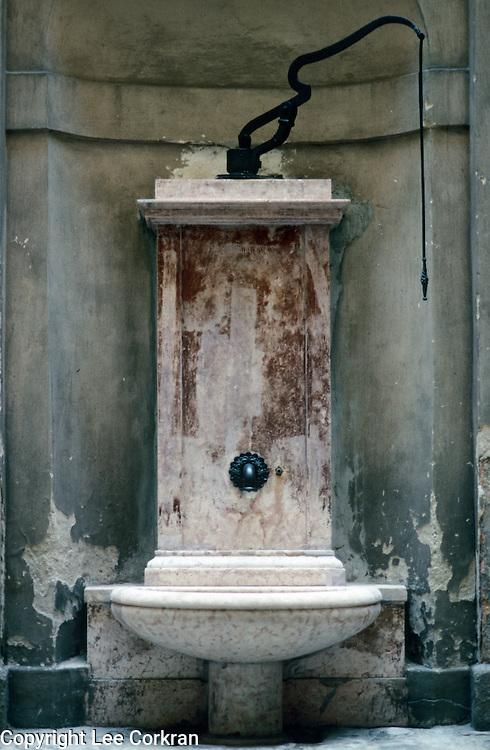 Water fountain in Seville, Spain