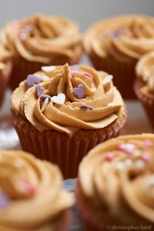 Cup Cakes with Coffee flavour frosting.