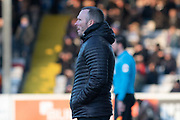 Michael Appleton during the EFL Sky Bet League 1 match between Lincoln City and Tranmere Rovers at Sincil Bank, Lincoln, United Kingdom on 14 December 2019.