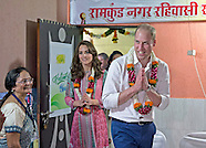 Kate Middleton & Prince William Visit Mumbai Slum