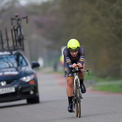 09-04-2016: Wielrennen: Energiewachttour vrouwen: Roden<br /> LEEK (NED) wielrennen<br /> De vijfde etappe van de Energiewachttour was een individuele tijdrit met start en finish in Leek. Amy Pieters
