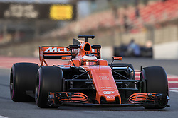 March 10, 2017 - Barcelona, Barcelona, Spain - Stoffel Vandoorne - McLaren Honda MCL32 in action during the Formula One winter testing at Circuit de Catalunya on March 10, 2017 in Montmelo, Spain. (Credit Image: © Dpi/NurPhoto via ZUMA Press)