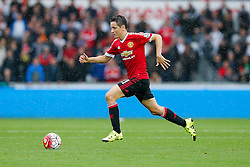 Ander Herrera of Manchester United in action - Mandatory byline: Rogan Thomson/JMP - 07966 386802 - 30/08/2015 - FOOTBALL - Liberty Stadium - Swansea, Wales - Swansea City v Manchester United - Barclays Premier League.