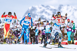 21.02.2019, Langlauf Arena, Seefeld, AUT, FIS Weltmeisterschaften Ski Nordisch, Seefeld 2019, Langlauf, Herren, Sprint, im Bild Viktor Thorn (SWE) // Viktor Thorn of Sweden during the men's Sprint competition of the FIS Nordic Ski World Championships 2019. Langlauf Arena in Seefeld, Austria on 2019/02/21. EXPA Pictures © 2019, PhotoCredit: EXPA/ Dominik Angerer