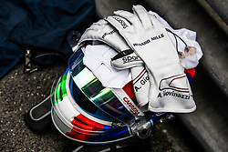 May 26, 2019 - Monte Carlo, Monaco - Motorsports: FIA Formula One World Championship 2019, Grand Prix of Monaco, ..Helmet and sleeves of #99 Antonio Giovinazzi (ITA, Alfa Romeo Racing) (Credit Image: © Hoch Zwei via ZUMA Wire)