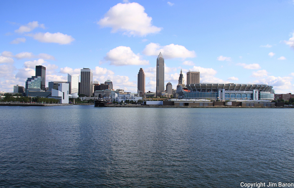 Cleveland Ohio skylines produced by Baron Photography and The Image Finders
