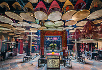 kowloon, Hong Kong, China- june 9, 2014: Tin Hau Temple Tsim Sha Tsui Kowloon in Hong Kong