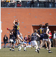 Picture from the European Legion v AIS AFL Academy match during the AFL Europe Easter Series at Surrey Sports Park, Guildford, UK on 6th April 2013. Final score was 104-18. Photo by Andrew Tobin/Tobinators Ltd.