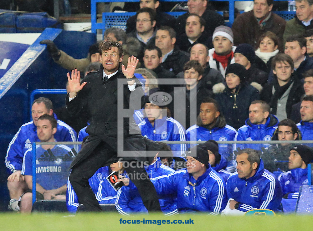 Picture by John Rainford/Focus Images Ltd. 07506 538356.12/12/11.Andre Villas-Boas, manager of Chelsea during the game against Manchester City in the Barclays Premier League at Stamford Bridge stadium, London.