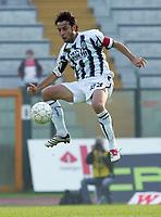"Roberto D'Aversa (Siena)<br /> Italian ""Serie A"" 2006-07 <br /> 12 November 2006 (Match Day 11)<br /> Siena-Reggina (0-1)<br /> ""Artemio Franchi"" Stadium-Siena-Italy<br /> Photographer Luca Pagliaricci INSIDE"