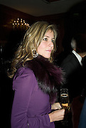 CLEIDE DE SILVA, The 2007 Cartier Racing Awards. Four Seasonss Hotel. London. 14 November 2007. -DO NOT ARCHIVE-© Copyright Photograph by Dafydd Jones. 248 Clapham Rd. London SW9 0PZ. Tel 0207 820 0771. www.dafjones.com.