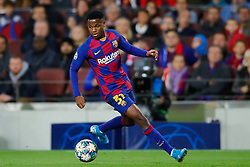 November 5, 2019, Barcelona, Catalonia, Spain: November 5, 2019 - Barcelona, Spain - Uefa Champions League Stage Group, FC Barcelona v Slavia Praga: Ansu Fati of FC Barcelona runs with the ball. (Credit Image: © Eric Alonso/ZUMA Wire)