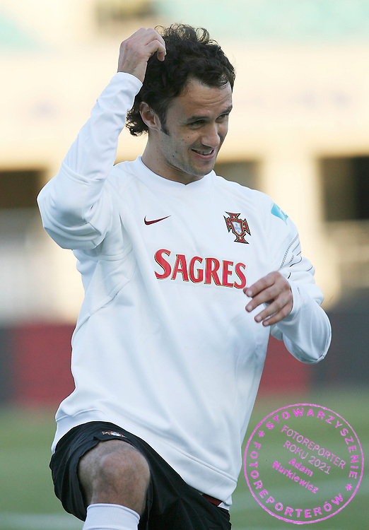 CHORZOW 10/10/2006 ..Euro 2008 QUALIFIER..PORTUGAL Training Session..RICARDO CARVALHO OF PORTUGAL..fot. piotr hawalej / wrofoto