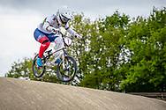 #1 (SMULDERS Laura) NED during practice at Round 3 of the 2019 UCI BMX Supercross World Cup in Papendal, The Netherlands