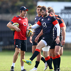 Elliot Daly of England during the England Rugby training session at  Jonsson Kings Park Stadium,Durban.South Africa. 19,06,2018 Photo by (Steve Haag JMP)