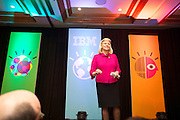 In Hablemos de Negocios de IBM Mexico had de visit of Ms. Rometty the senior vice president, IBM Global Business Services.  During her tenure, Ms. Rometty led the successful integration of PricewaterhouseCoopers Consulting -- the largest acquisition in professional services history, building a global team of more than 100,000 business consultants and service experts that apply information technology to help clients optimize their business performance