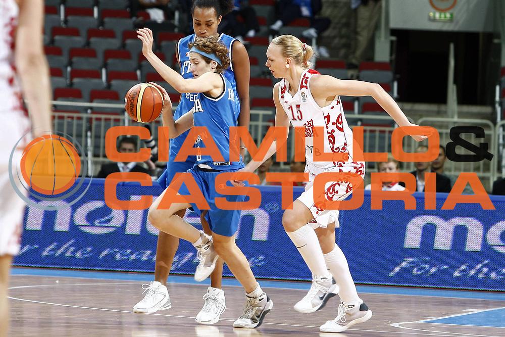 DESCRIZIONE : Riga Latvia Lettonia Eurobasket Women 2009 Qualifying Round Russia Italia Russia Italy<br /> GIOCATORE : Simona Ballardini<br /> SQUADRA : Italia Italy<br /> EVENTO : Eurobasket Women 2009 Campionati Europei Donne 2009 <br /> GARA : Russia Italia Russia Italy<br /> DATA : 14/06/2009 <br /> CATEGORIA : palleggio<br /> SPORT : Pallacanestro <br /> AUTORE : Agenzia Ciamillo-Castoria/E.Castoria<br /> Galleria : Eurobasket Women 2009 <br /> Fotonotizia : Riga Latvia Lettonia Eurobasket Women 2009 Qualifying Round Russia Italia Russia Italy<br /> Predefinita :