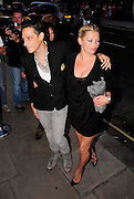 01.JULY.2009 - LONDON<br /> <br /> KATE MOSS AND BOYFRIEND JAMIE HINCE ARRIVING AND LEAVING SCETCH NIGHT CLUB, MAYFAIR FOR THE LAUNCH OF BETH DITTO'S NEW CLOTHES RANGE FOR EVANS SHOPS THAT SHE CO-DESIGNED.<br /> <br /> BYLINE: EDBIMAGEARCHIVE.COM<br /> <br /> *THIS IMAGE IS STRICTLY FOR UK NEWSPAPERS & MAGAZINES ONLY*<br /> *FOR WORLDWIDE SALES & WEB USE PLEASE CONTACT EDBIMAGEARCHIVE - 0208 954 5968*