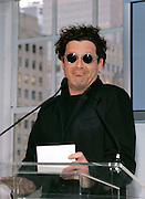 Designer Isaac Mizrahi speaks at the 2008 CFDA Fashion Awards Nominee Announcement in the Rooftop Gardens at Rockefeller Center in New York City, USA on March 10, 2008.