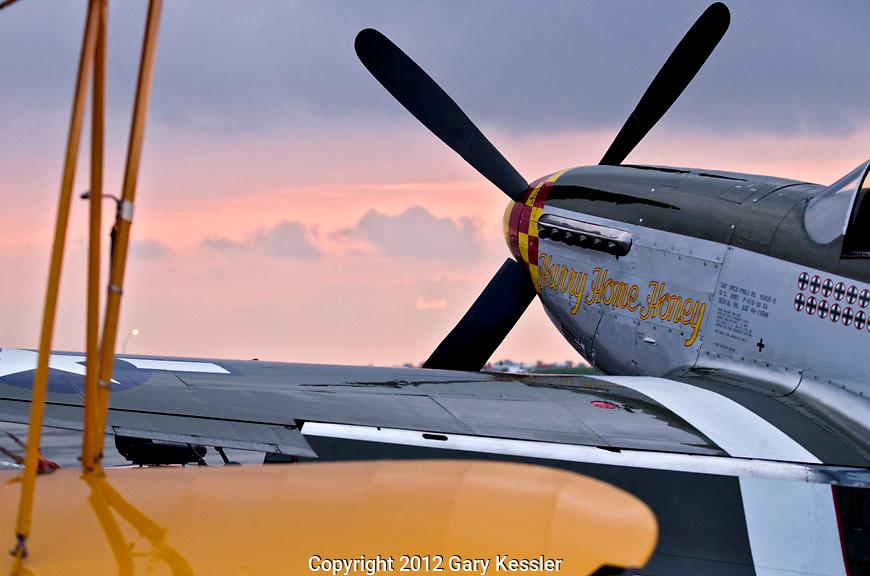 P51 Mustang ,Keeneland Concours D'Elegance,Lexington Ky.