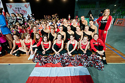 at European Cheerleading Championship 2011, on July 3, 2011, in SRC Stozice, Ljubljana, Slovenia (Photo by Matic Klansek Velej / Sportida)