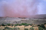 Dust cloud, near Page, Arizona