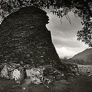Dun Telve Broch, Dun trodden, Glenelg, Kyle, Scotland