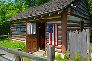 Entrance and gift shop, Colonial Plantation, Ridley Creek State Park, Delaware County, PA
