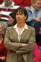 Dec 20, 2011; Stanford CA, USA;  Stanford Cardinal head coach Tara VanDerveer watches her team warm up before the game against the Tennessee Lady Volunteers at Maples Pavilion.  Mandatory Credit: Jason O. Watson-US PRESSWIRE