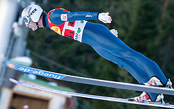 14.12.2013, Nordische Arena, Ramsau, AUT, FIS Nordische Kombination Weltcup, Skisprung, Wettkampfdurchgang, im Bild Lukas Klapfer (AUT) // Lukas Klapfer (AUT) during Ski Jumping of FIS Nordic Combined World Cup, at the Nordic Arena in Ramsau, Austria on 2013/12/14. EXPA Pictures © 2013, EXPA/ JFK