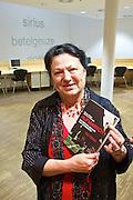 """Vienna, Hauptbuecherei. Presentation of the book """"Aufmarsch: Die rechte Gefahr aus Osteuropa"""" by  Gregor Mayer and Bernhard Odehnal.  Mathilde Mayer."""