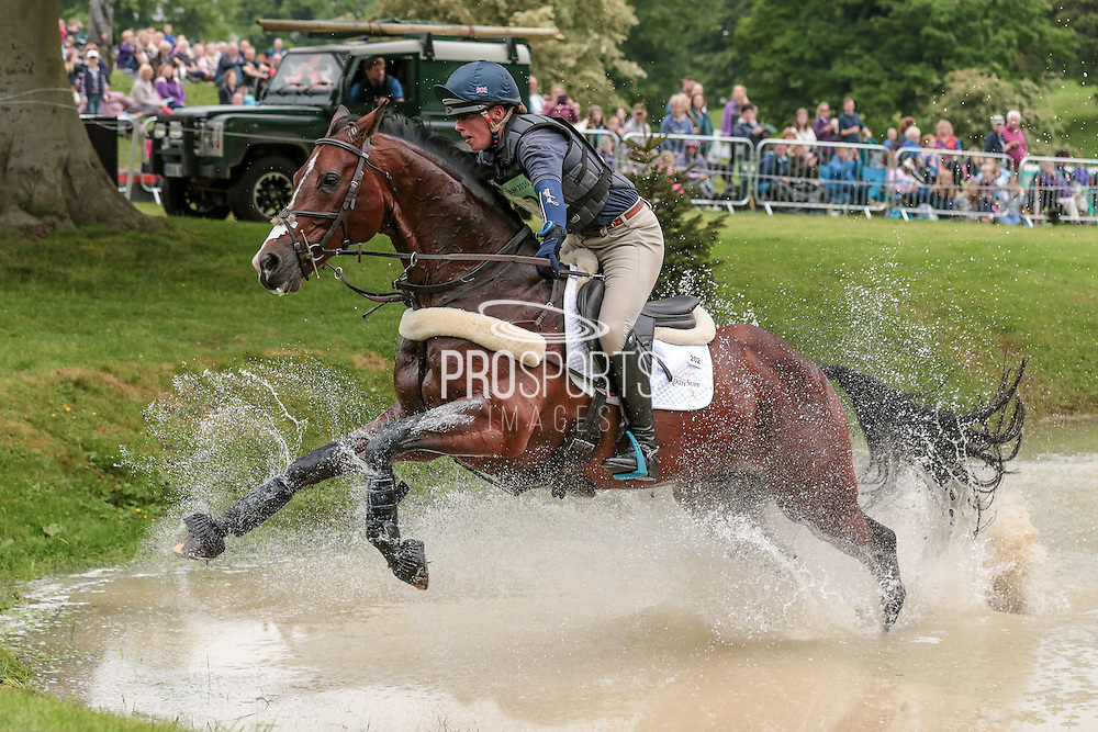 BAYANO ridden by Flora Harris at Bramham International Horse Trials 2016 at  at Bramham Park, Bramham, United Kingdom on 11 June 2016. Photo by Mark P Doherty.