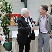 NLD/Amsterdam/20120614 - Presentatie wielerblad Tour Express, van Louis Bovee, Rini Wagtmans