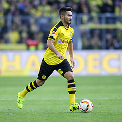 27.09.2015, Signal Iduna Park, Dortmund, GER, 1. FBL, Borussia Dortmund vs SV Darmstadt 98, 7. Runde, im Bild Ilkay Guendogan (Borussia Dortmund #8) // during the German Bundesliga 7th round match between Borussia Dortmund and SV Darmstadt 98 at the Signal Iduna Park in Dortmund, Germany on 2015/09/27. EXPA Pictures © 2015, PhotoCredit: EXPA/ Eibner-Pressefoto/ Schueler<br /> <br /> *****ATTENTION - OUT of GER*****