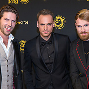 NLD/Amsterdam/20191009 - Uitreiking Gouden Televizier Ring Gala 2019, StukTV - Giel de Winter, Thomas van der Vlugt en Stefan Jurriens