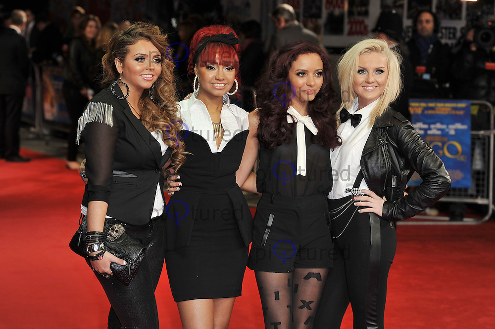 Little Mix..'Hugo in 3D' Royal Premiere, Odeon Cinema, Leicester Square, London, England. 28 November 2011. Contact: rich@piqtured.com  +(0)7941 079620 (Picture by Awais Butt)