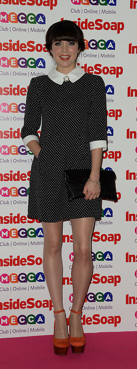 Inside Soap Awards.<br /> Rachel Bright arrives for the Inside Soap Awards, Ministry of Sound, London, United Kingdom,<br /> Monday, 21st October 2013. Picture by Andrew Parsons / i-Images