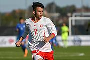 21.09.2017; Niederhasli; FUSSBALL U16 - Schweiz - Italien;<br /> Ruben Correia (SUI) <br /> (Andy Mueller/freshfocus)