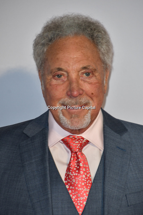 Tom Jones attend A Star Is Born UK Premiere at Vue Cinemas, Leicester Square, London, UK 27 September 2018.